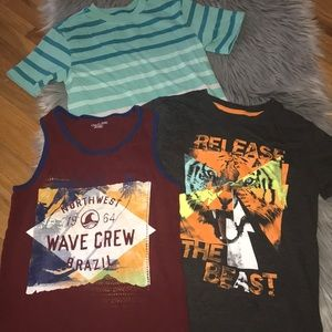 Other - Lot of 3 boys' shirts